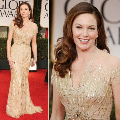 Diane Lane at Golden Globes 2012