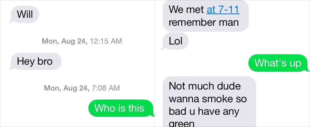 This Guy Was Looking For Drugs and Texted the WRONG Person