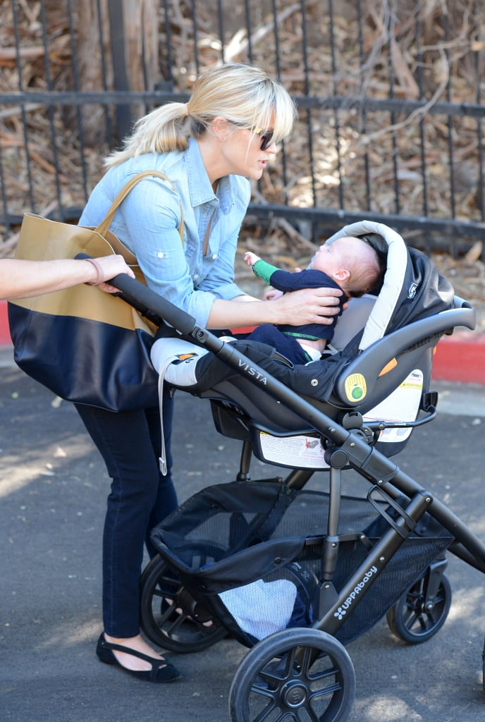 Reese Witherspoon and husband Jim Toth welcomed Tennessee James Toth in September.