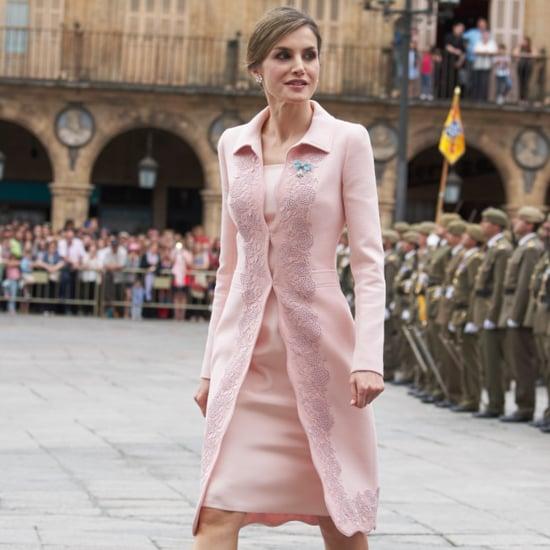 Queen Letizia's Summer Tweed Jacket June 2016