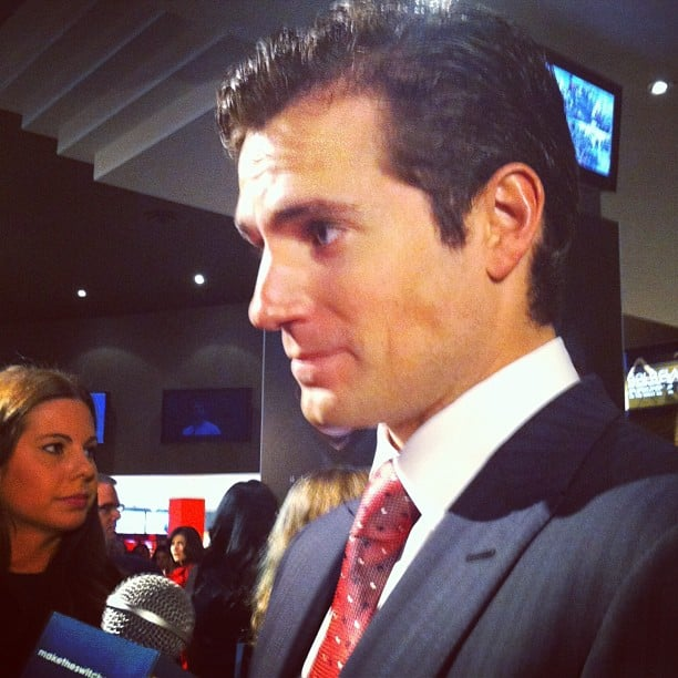 What's the real Henry Cavill like? He was exceptionally polite, very sweet and charming, very good-looking in real life, and arrived half an hour early so he could take more photos with fans. Super man indeed.