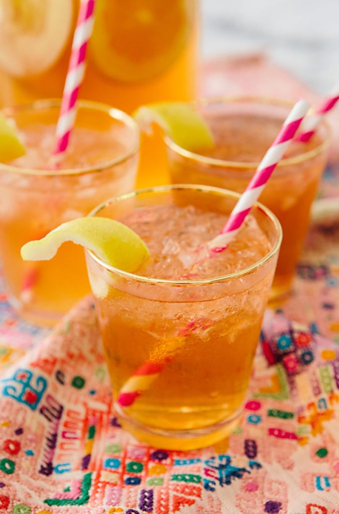 Ginger Bourbon Cider Punch