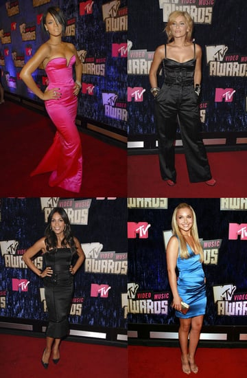 MTV Video Music Awards: Sexy in Satin
