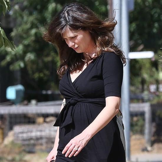 Zooey Deschanel After Giving Birth