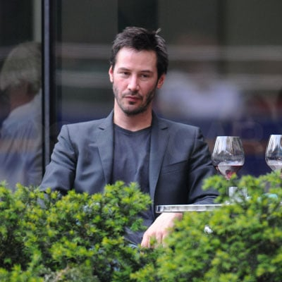 Keanu Reeves at Lunch in NYC