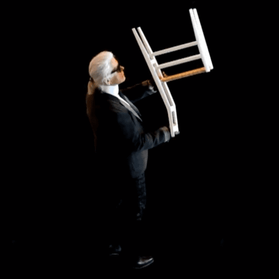 Karl Lagerfeld Cassina Furniture | Behind-the-Scenes Video