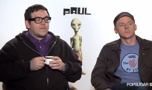 Video of Paul Creators Nick Frost and Simon Pegg Talking Seth Rogen, Tom Cruise, Mission Impossible, and More