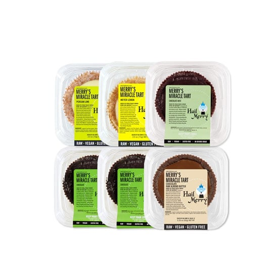 If the idea of raw vegan desserts isn't appealing, you clearly haven't tried Hail Merry tarts ($4.50 each). Made with coconut oil and without refined sugars, these treats are so rich and delicious that you won't feel like you're missing a thing. Available at Whole Foods.