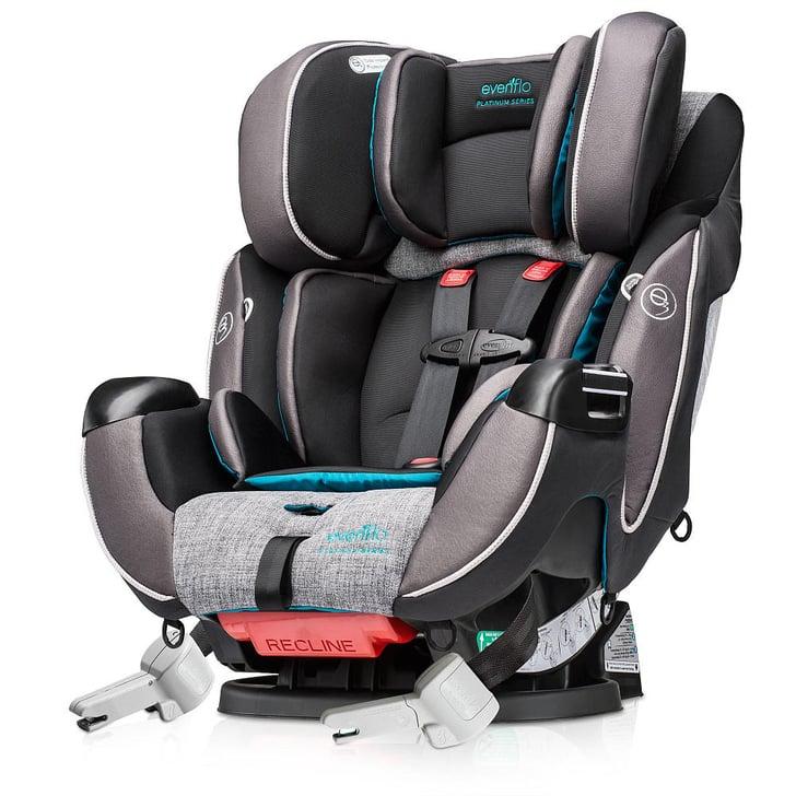 evenflo platinum symphony dlx all in one car seat our must haves for april popsugar moms. Black Bedroom Furniture Sets. Home Design Ideas