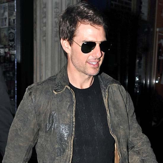 Tom Cruise at London Club With Connor Cruise