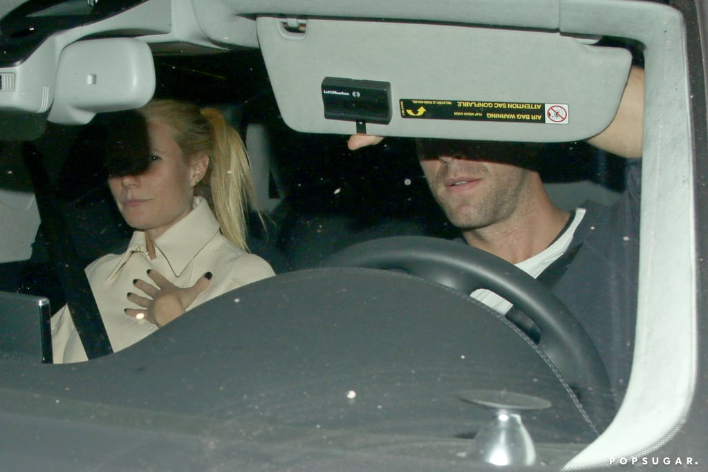 Gwyneth Paltrow and Chris Martin Reunite For a Dinner Date