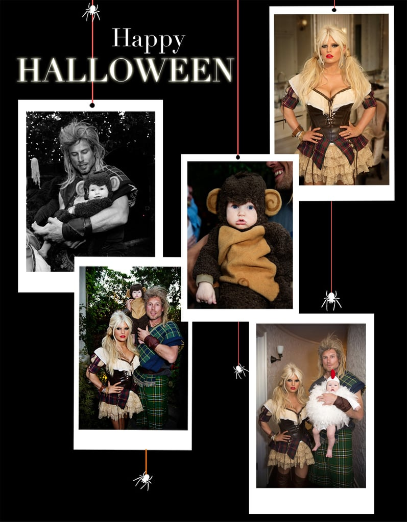 Jessica Simpson shared some of her personal Halloween snaps with fans. Source: Twitter user JessicaSimpson