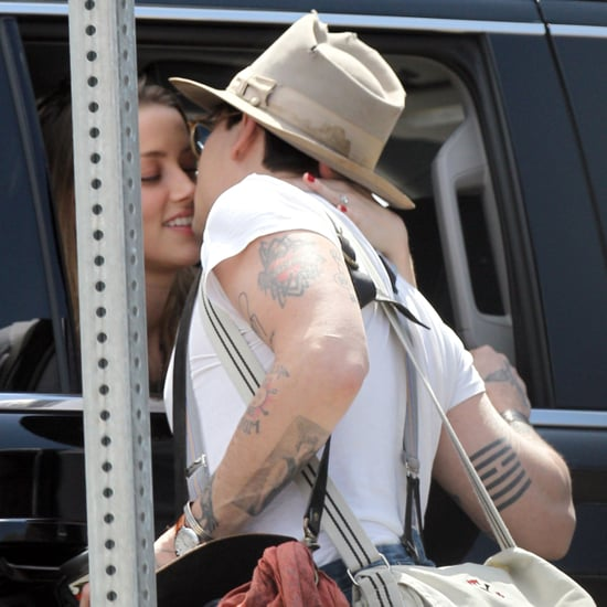 Johnny Depp and Amber Heard PDA in NYC