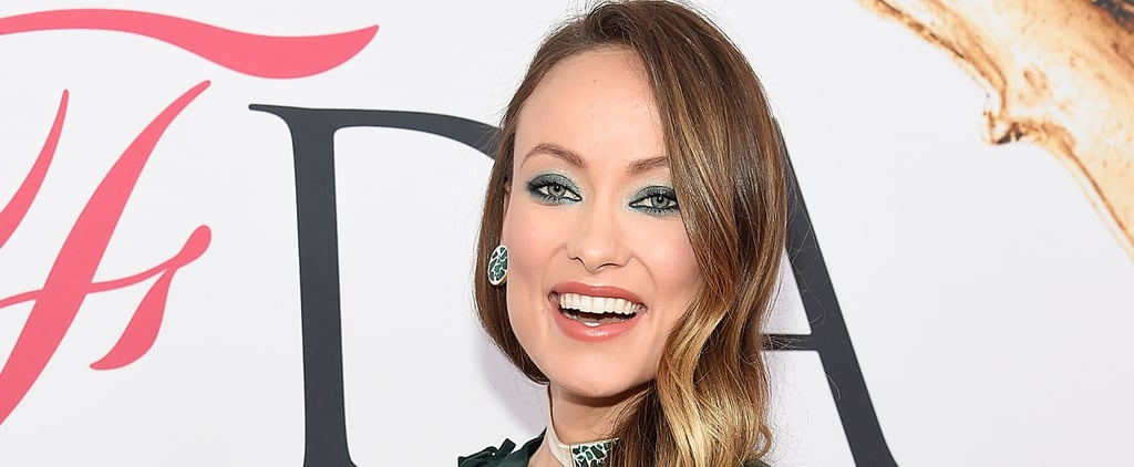 Olivia Wilde Shows Off a Sliver of Her Baby Bump in a Cutout Dress on the Red Carpet