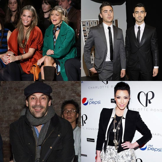 Pictures of Celebrities at 2011 New York Fashion Week
