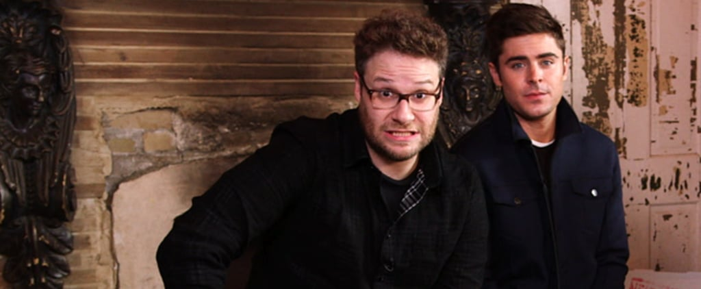 Who Shoved Cheesburgers in Mail Slots —Zac Efron or Seth Rogen?