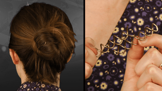 Goody Spin Pins Product Review: How to Create an Updo