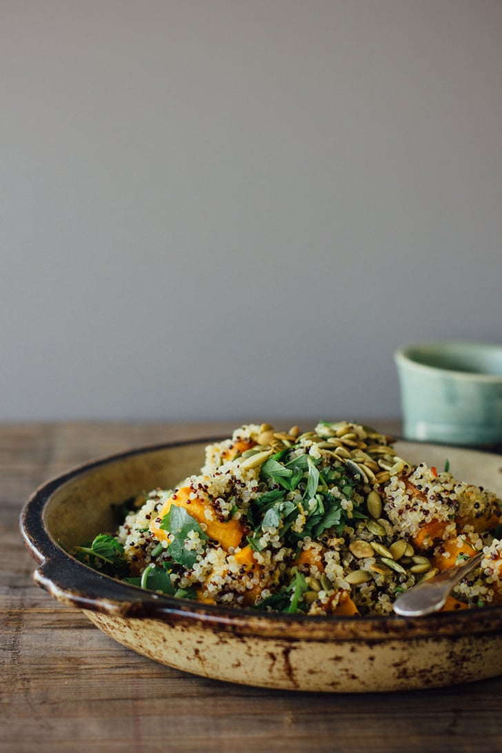 Pumpkin and Quinoa Salad With Mint, Chili, and Lime | 50+ Fresh ...