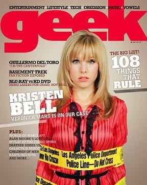 Geek of the Week: Kristen Bell