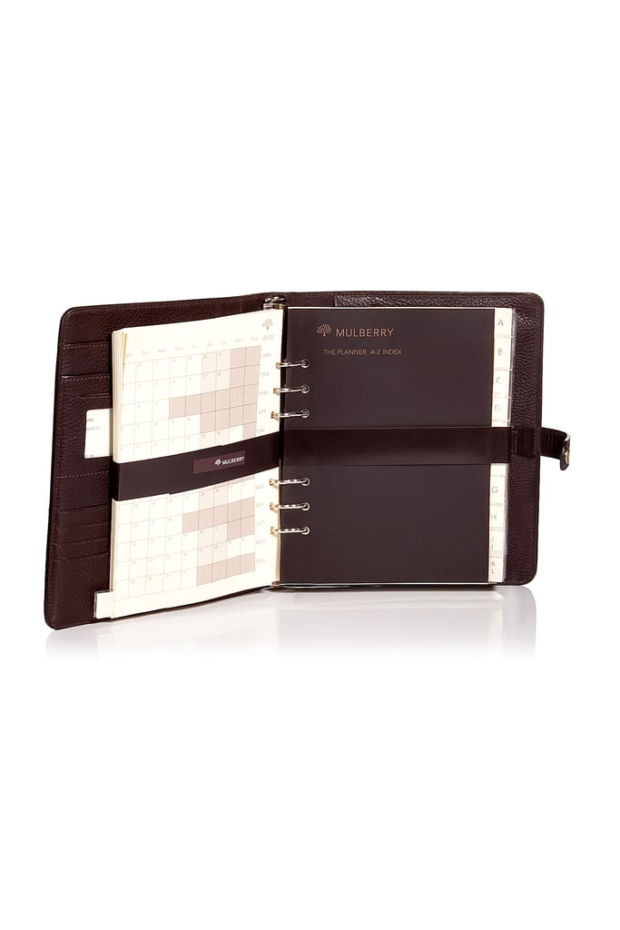 This luxe leather planner will be a welcome addition to Dad's desk.  Mulberry Chocolate Planner Natural Veg ($605)