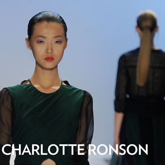 Charlotte Ronson Fall 2012 Beauty Look