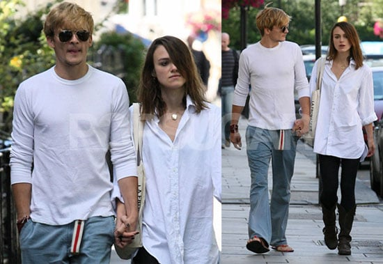 Why The Long Face, Keira? Rupert Looks Cute!