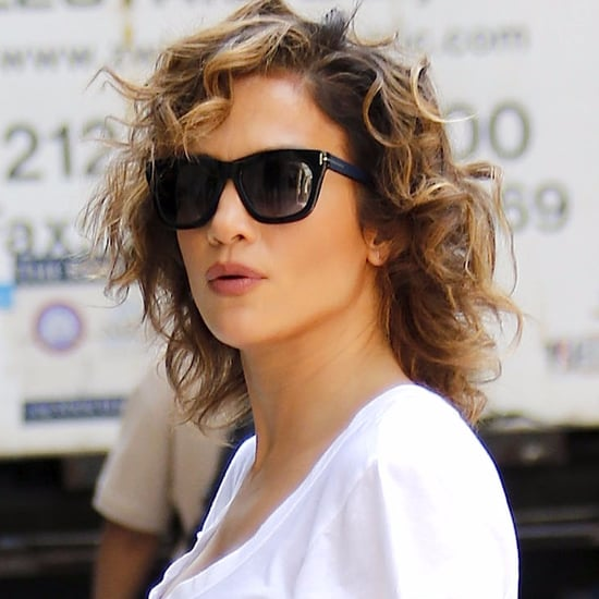 Jennifer Lopez Wearing Hermes Birkin Bag With Sweatpants