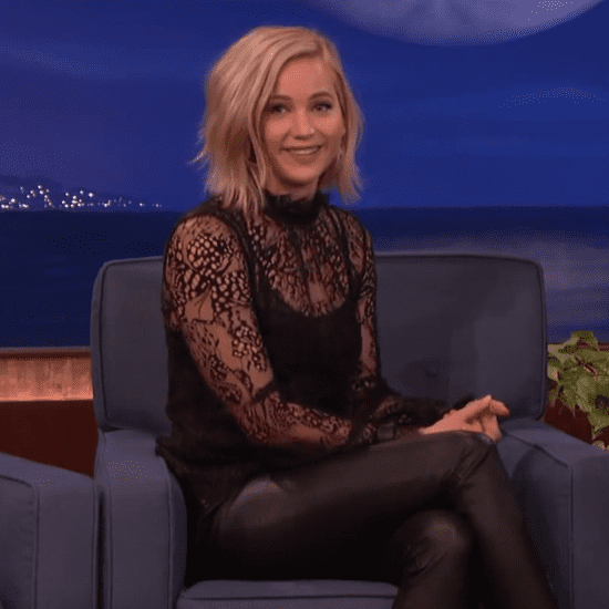 Jennifer Lawrence on Conan November 2015