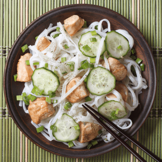 Fuel Your Workout With a Balanced Chicken Pad Thai Recipe