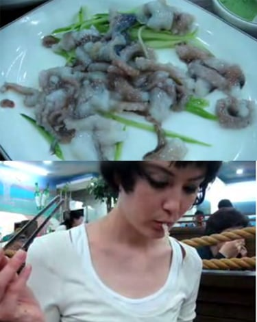 Would You Eat This Live Octopus?