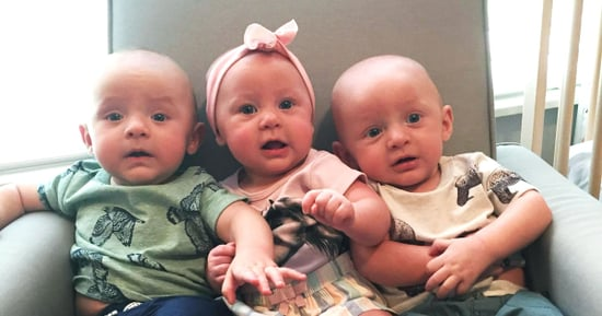 These Adorable Triplets Nearly Broke the World Record for Birth Weight