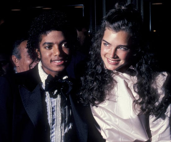 Michael and Brooke Shields were all smiles at the Academy Awards in 1981.