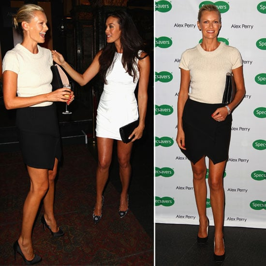 Love That Skirt! Sarah Murdoch Wraps It Up