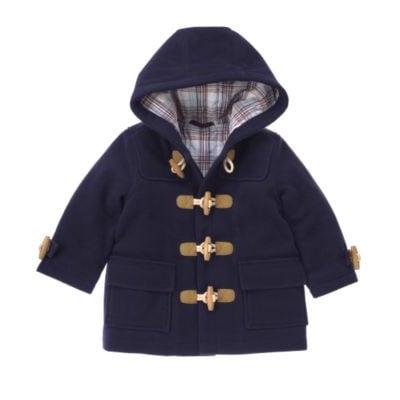 Blue Duffle Coat $88