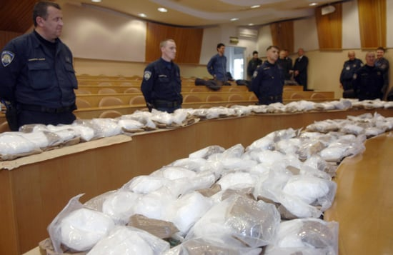 Drug Traffickers Blow by the US, Head for Euros