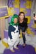 Katie Holmes snapped a pic at the Winter Wonka-land pop-up shop in NYC on Thursday. Source: Joey Andrew