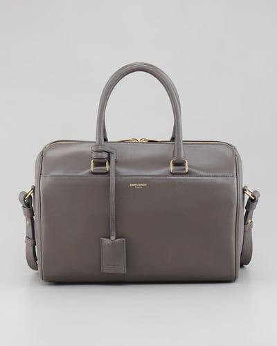 Saint Laurent Small Duffel 6 Bag, Gray