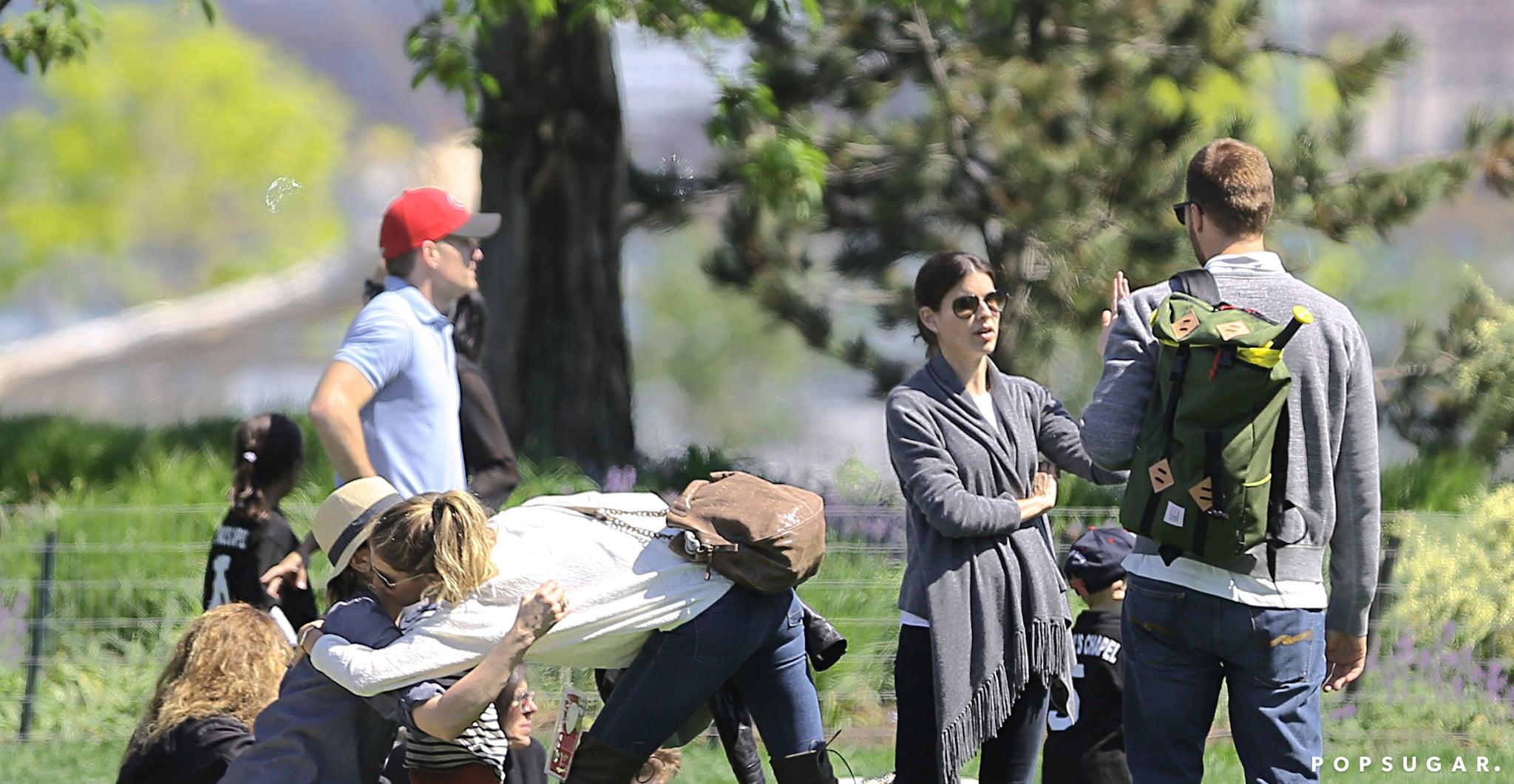 Gisele Bündchen and Tom Brady Get Friendly With Tom's Ex