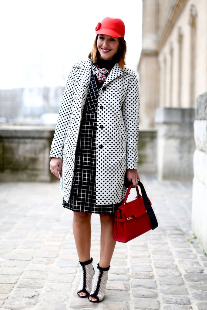 A black and white palette made print-mixing easy (and sharp!).