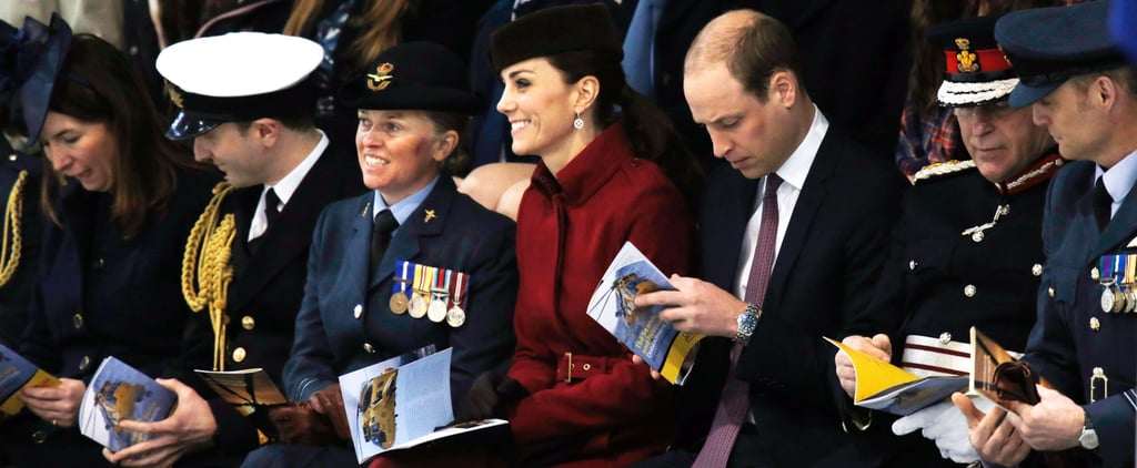 Kate Middleton Proves the Belted Coat Is Back, Baby