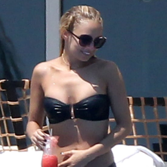Nicole Richie Strapless Bikini Pictures in Cabo San Lucas