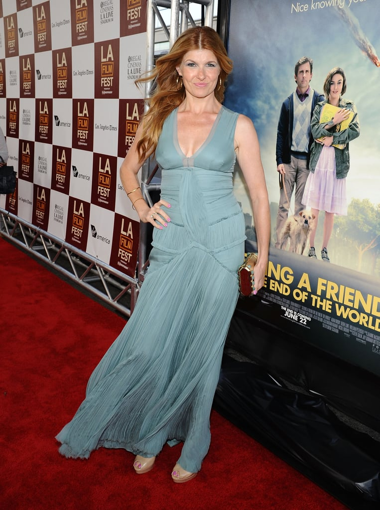 Connie Britton stepped onto the red carpet at the LA premiere of Seeking a Friend For the End of the World.