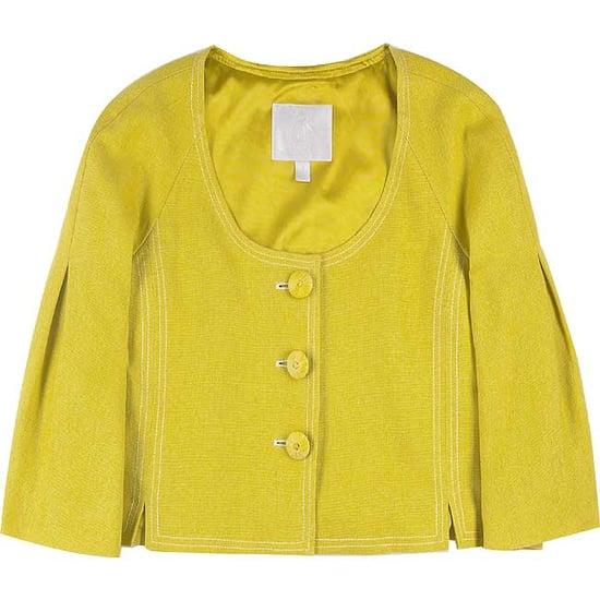 Trend Alert: Collarless Jackets