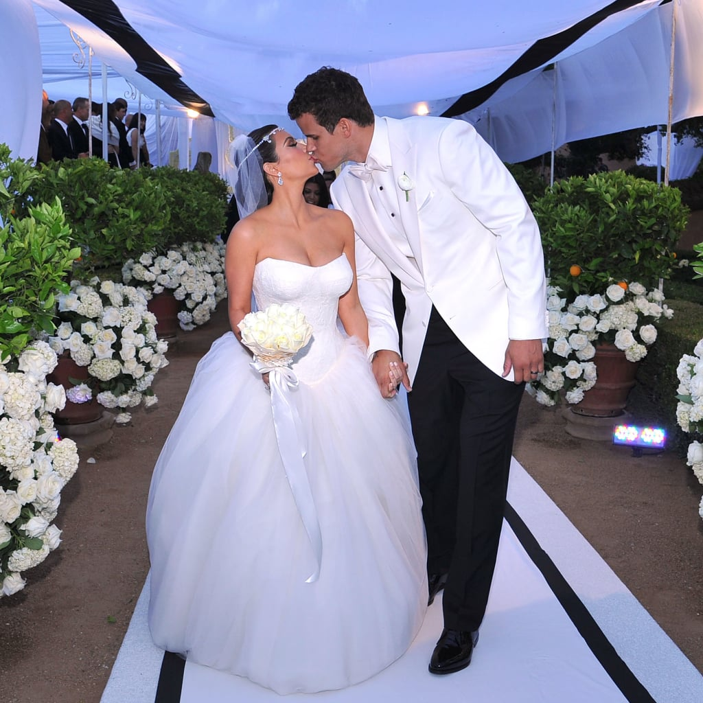 Khloe Kardashian Wedding Gown: Kim Kardashian Wedding Pictures With Kris Humphries