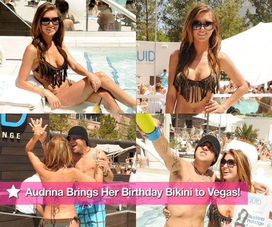 Pictures of Audrina Patrige in a Bikini for Her 25th Birthday 2010-05-09 10:18:25