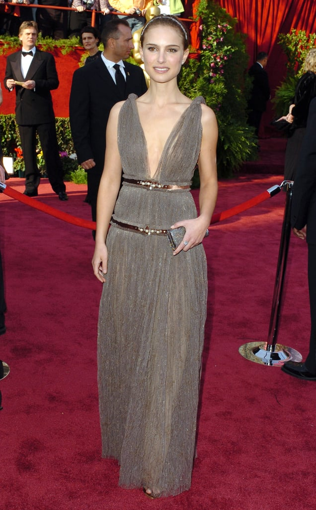 Natalie Portman in Lanvin at the 2005 Oscars