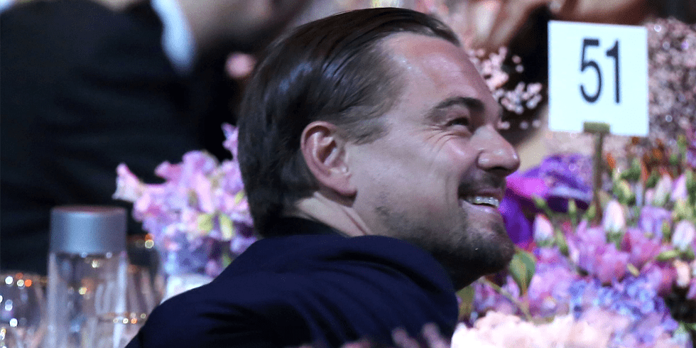 Video: 38 Models, $25 Million, and Leo DiCaprio in Space — All in a Night For amfAR!