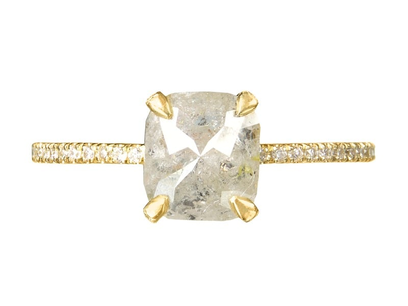 Robin Haley Gray Diamond Ring ($3,898)