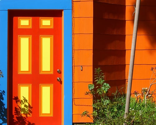Fall Style: Orange Exteriors