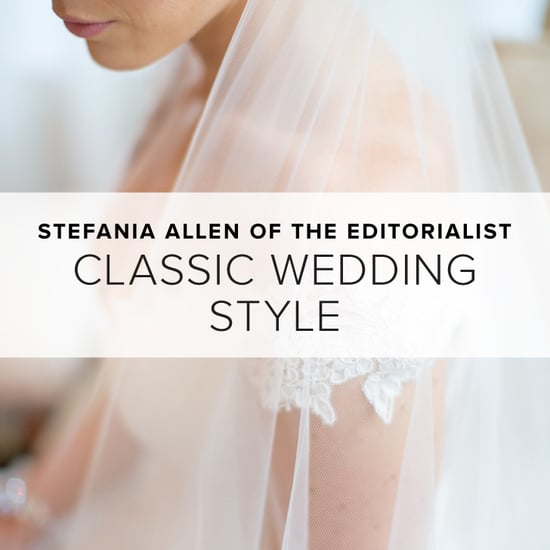 Classic Wedding Style by Stefania Allen of The Editorialist